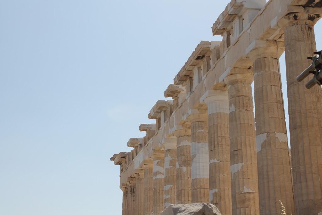 Parthenon Tapınağı.