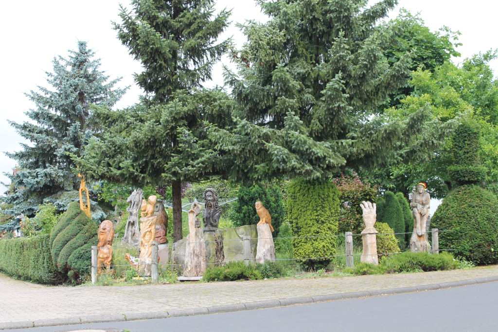 Altenstadt bir evin bahçesi